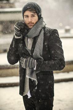 #blazer #scarf #grey #streetstyle #style #menstyle #manstyle #menswear #fashion #mensfashion