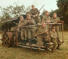 Ghost Army Although the Ghost Army, a US special tactical unit deployed in World War II, wasn't actually made up of ghosts, it was comprised of English Comedy, British Comedy, Durham Museum, Dad's Army, My Babysitter, Home Guard, Bbc Tv Series, Classic Comedies, Military Units