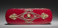 Lacquer Box  firm of mounted by Peter Carl Fabergé (Russian, 1846-1920), box by Factory N. Lukutin (Russian)