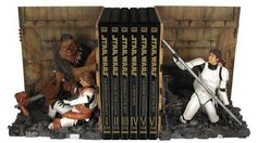 star wars bookend1 Bookend Specially Designed for Star Wars Fans - WAY too expensive for a young child... but maybe a DIY project?