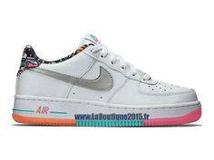 Nike Air Force 1 07 Prm Noire Iridescente Baskets Femme