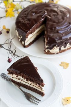 Mirabelkowy blog: Ciasto jak Kinder Pingui Cheesecake, Food And Drink, Cooking, Blog, Cakes, Diy, Recipes, Cuisine, Kitchen