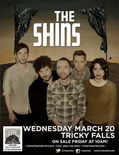The Shins | Tricky Falls | March 20th 2013 #music #ElPaso #events