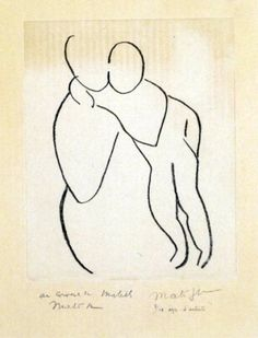 Mother and child, Matisse