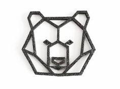 geometric bear - Google Search