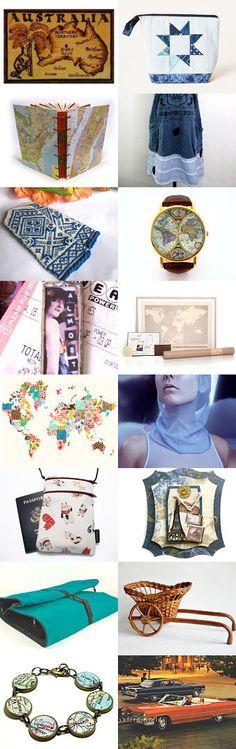 Roam around the world... by Kay on Etsy--Pinned with TreasuryPin.com