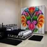 dekoracja szafy