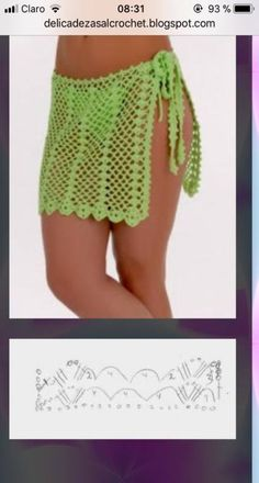 crochet dress outfits 29 New Ideas Crochet Skirt Beach Outfit Pull Crochet, Beach Crochet, Crochet Cover Up, Crochet Lace, Crochet Bikini, Crochet Books, Crochet Skirt Pattern, Crochet Skirts, Crochet Clothes