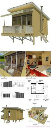 Louise tiny house plans