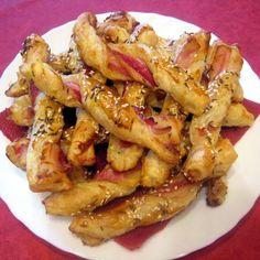 Egy finom Csavart stangli baconnel ebédre vagy vacsorára? Csavart stangli baconnel Receptek a Mindmegette.hu Recept gyűjteményében!