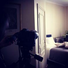 Shooting Hotel Mansart - July 2012
