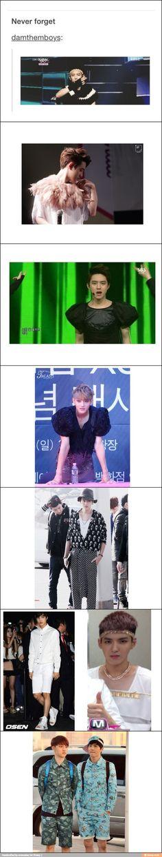 keke EXO has a heck of a fashion sense keke and i love it~!! keke they are pure sexy ass models~!!