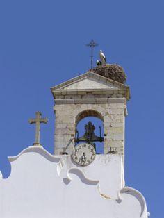 Arco Da Vila with Storks Nest, Faro, Algarve Portugal Photographic Print