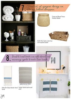 Julip Made bathroom styling tips by julip made, via Flickr