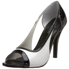 Amazon.com: The Highest Heel Womens Audrey Open-Toe Pump: Shoes $39.99
