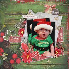 Kaisercraft - Basecoat Christmas - Linda Thompson