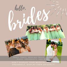 Wedding Photo Display Ideas Curved Glass, Photo Displays, Display Ideas, Wedding Gifts, Wedding Photos, Groom, Gift Ideas, Bride, Prints