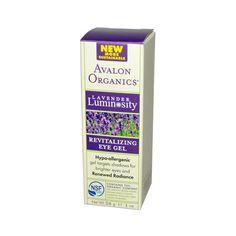 Avalon Organics Revitalizing Eye Gel Lavender - 1 fl oz