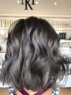 Grey hair color work done by Amanda Reynolds Grey Hair, Silver Hair, Amanda, Bob, Hair Color, Hair Beauty, Long Hair Styles, Haircolor, Gray Hair