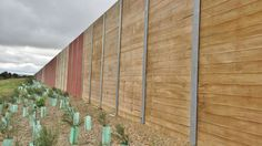 Sound Wall, Timber Fencing, Fence, Walls, Wood, Wood Fences, Wooden Fences, Woodwind Instrument, Wooden Fence