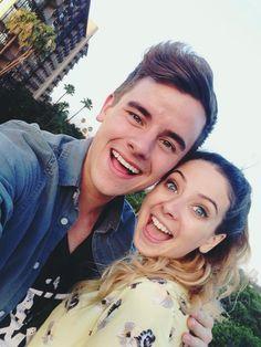 Connor Franta and Zoe Suggs