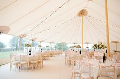 Sperry Tent Papakata | At Home Wedding | Ellis Bridals | Hannah Hickman Cakes | Helen Cawte Photography | http://www.rockmywedding.co.uk/annabelle-iain/