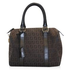 "Fendi Brown 'Forever"" Small Bag"