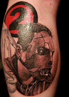 65+Fotos+de+tatuagens+de+fãs+do+Slipknot+ +Tinta+na+Pele