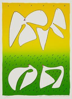 渡辺豊重《春から夏へ》1999年
