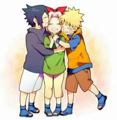 Naruto And Sasuke, Naruto Uzumaki, Anime Naruto, Boruto, Naruto Run, Naruto Team 7, Naruto Shippuden Characters, Naruto Family, Naruto Comic