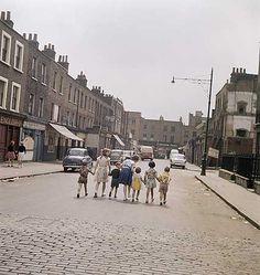 White Conduit Street, Islington, c 1955. John Gay via English Heritage