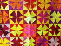 Winding ways 4. Jade's quilt.