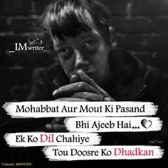 Follow me Farzana motiwala Love Hurts Quotes, Hurt Quotes, True Love Quotes, Boy Quotes, Hindi Attitude Quotes, Attitude Status, Hindi Quotes, Quotations, My Life My Rules