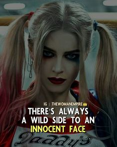 """famous words about life - Drop """"PAIN"""" Latter by latter If you agree _______________ Share your views in comments _______________ TAG someone 💞 ____________ Harly Quinn Quotes, Attitude Quotes For Girls, Brisbane, Dc Memes, Badass Quotes, Hurt Quotes, Joker Quotes, Girly Quotes, Joker And Harley Quinn"""