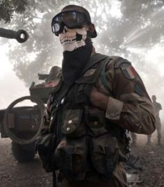 Modern Warfare Mask Lands French Soldier in Trouble