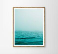Sea print, Beach art, Sky, Nature, Modern art, Wall decor, Digital art, Printable, Digital poster Instant Download 8x10, 11x14, 16x20