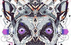 Juxtapoz Magazine - Electro Animals by Yo Az