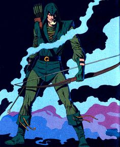 Green Arrow by Mike Grell. The only Green Arrow that matters.