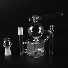 2015 New Arrival Square Design Glass Bongs Glass Water Pipes Smoking Pipes Oil Rigs Ash Catcher Design 18.8mm Joint Online with $46.08/Piece on Glassfashion's Store | DHgate.com