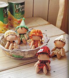 Bonecas Frutinhas 1/2 by joninhasemrc, via Flickr