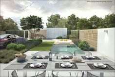 Ideal Garden Tools For The Green Thumb Rooftop Garden, Garden S, Garden Tools, Home And Garden, Modern Garden Design, Landscape Design, Outdoor Spaces, Outdoor Decor, Garden Architecture