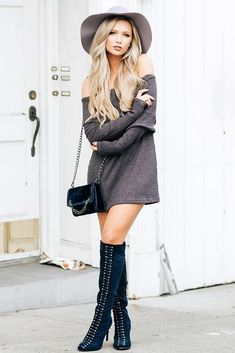 Cozy Outfit Ideas That Are Still Sexy ★ See more: http://glaminati.com/cozy-outfit-ideas-sexy/