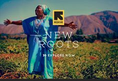 #newroots #eco #sustainable #organic #recycled @International Rescue Committee