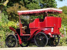 1901 Renault Type-D Rear-entrance Tonneau