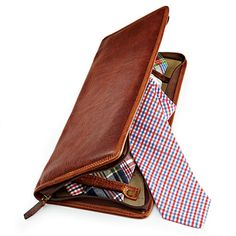 Travel Tie Case from gentsupplyco.com; $185, Neck Tie from starboardclothing.com; $60