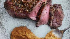 Kalveculotte med Romesco | Uimodståelig Weekendmad → Se Opskriften Her! Steak, Food, Meals, Yemek, Steaks, Eten, Beef