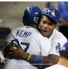 Kemp & Puig #Dodgers