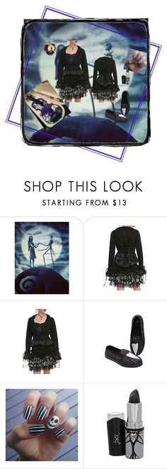 """""""Nightmare Before Christmas #2"""" by dreadful-glassheart ❤ liked on Polyvore featuring Jack Black and The Bradford Exchange"""