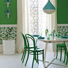 Freshen your space for Spring with GREEN!