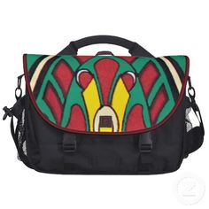 Decorative Assyrian Design Laptop Bag